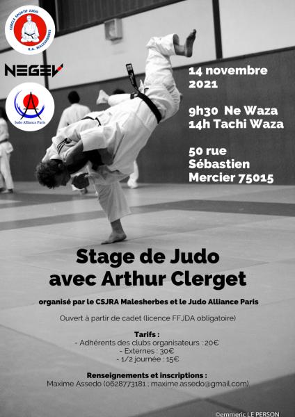 Stage Arthur Clerget